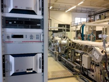 Advanced Energy equipment in the Customer Solutions Lab
